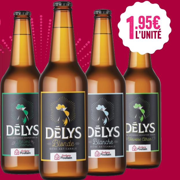 Bières Delys