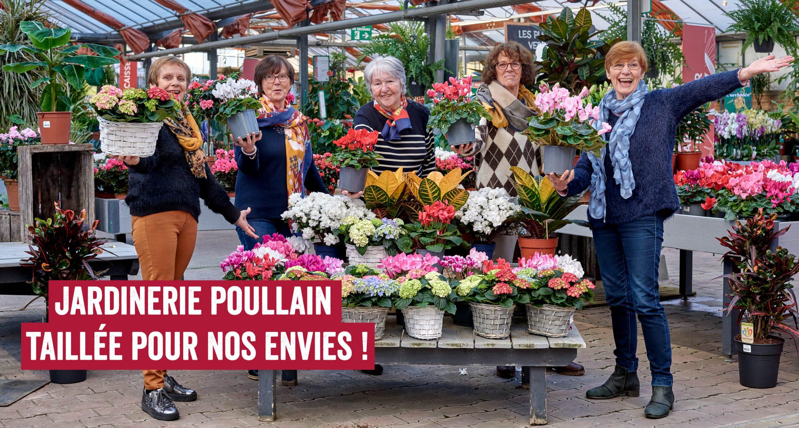 Jardinerie Poullain taillée pour nos envies !