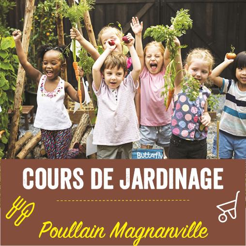 Cours de jardinage Poullain Magnanville